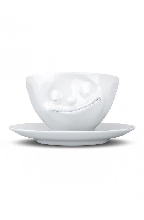 Счастливая улыбка - чашка с блюдцем Tassen (200 мл)