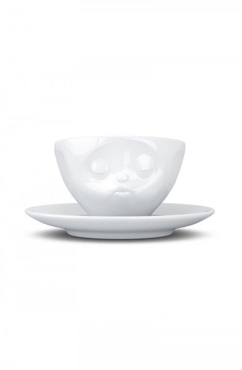 Поцелуй - чашка для эспрессо с блюдцем (100 мл)