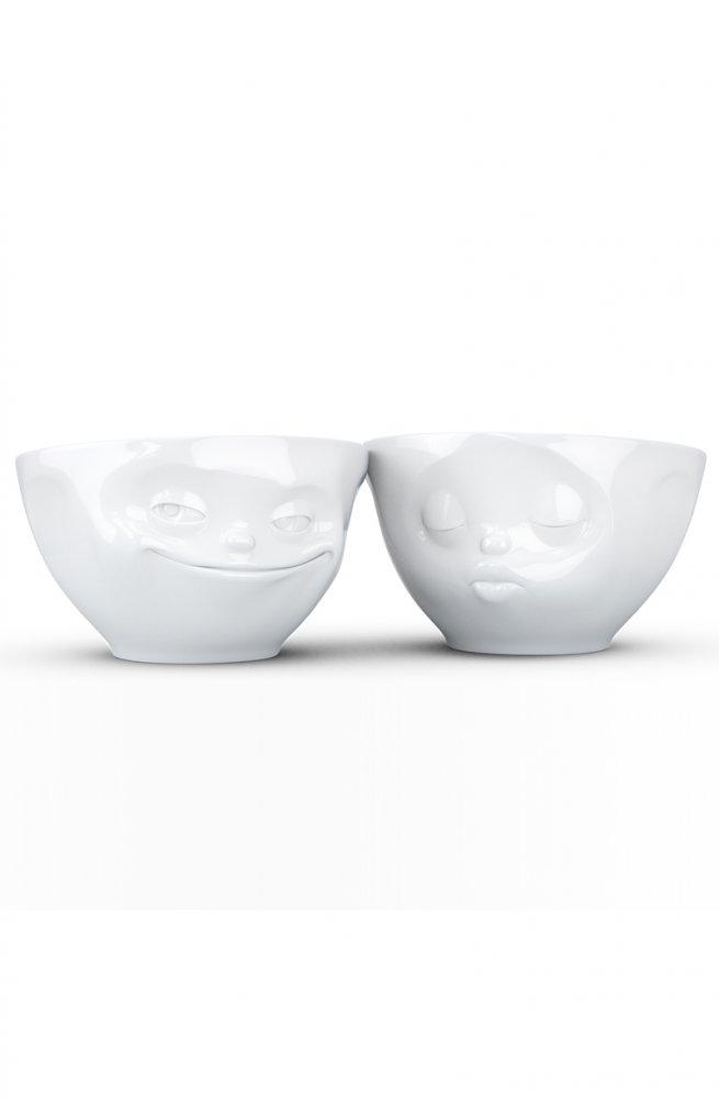 Поцелуй & Хитрая улыбка - Набор из 2-х пиал Tassen (200 мл)