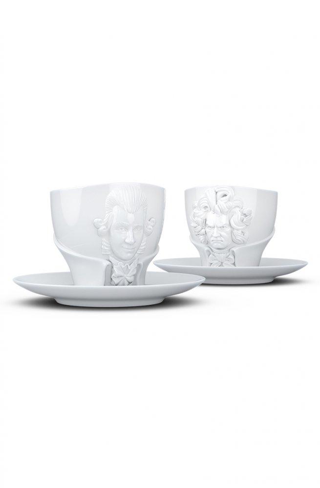 Бетховен & Моцарт - Чашки  260 мл.